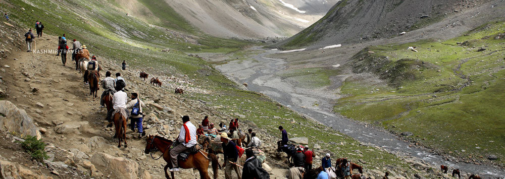 Pilgrimage to Amarnat on Horses