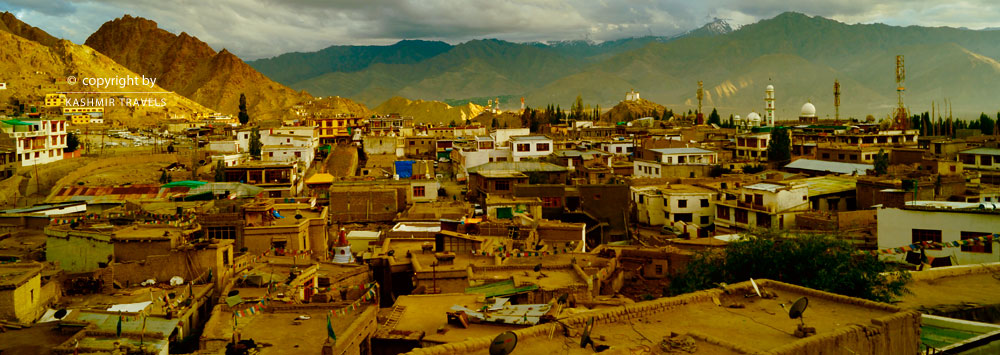 Houses in Ladakh